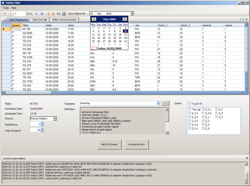 Solution Space Software » Announcement Systems